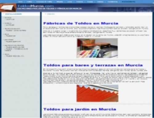 NUEVA WEB WWW.TOLDOSMURCIA.COM