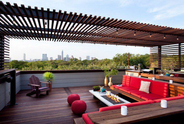 Pérgolas para terraza