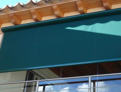 Toldos verticales para exteriores